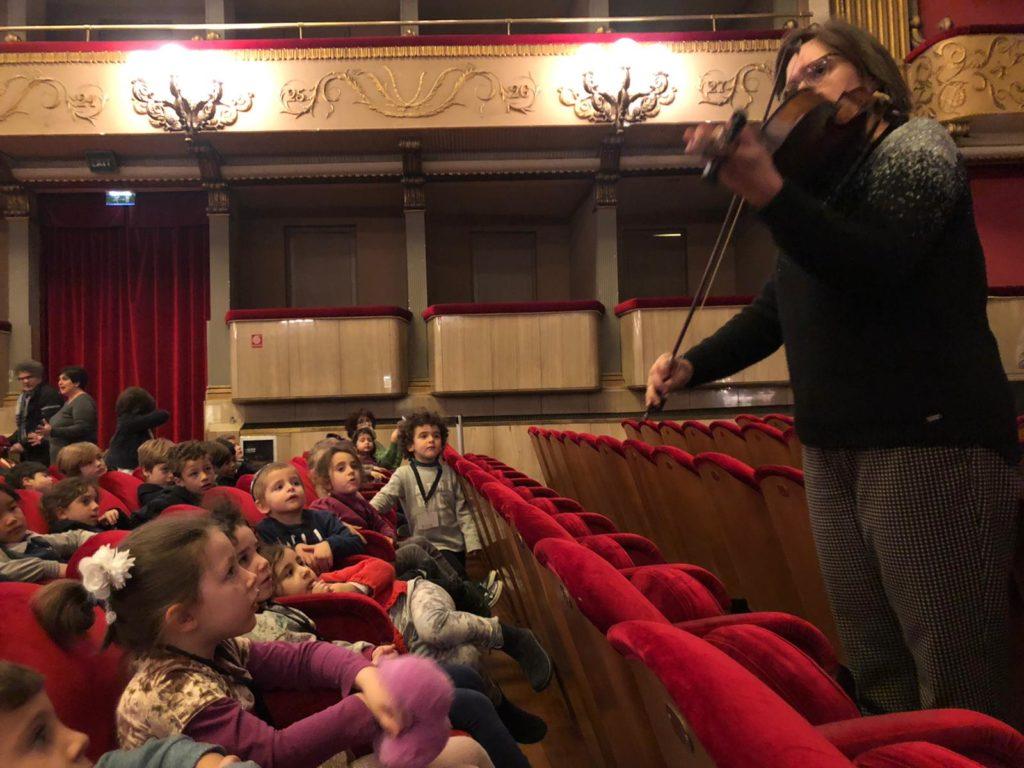 Scuola Nathan Cassuto: a teatro