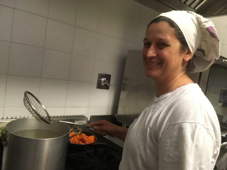 Scuola Nathan Cassuto e nido Gam Gam: la nostra cuoca