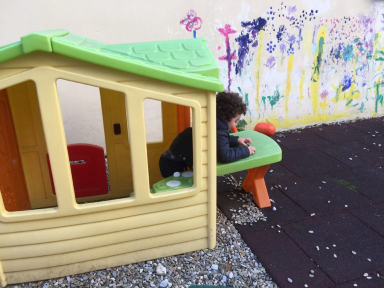 Scuola Nathan Cassuto e Nido Gam Gam: in giardino
